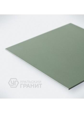 КЕРАМОГРАНИТ 600х600х10 UF007 Зеленый моноколор