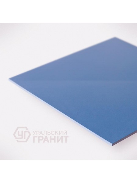 КЕРАМОГРАНИТ 600х600х10 UF012 Синий моноколор