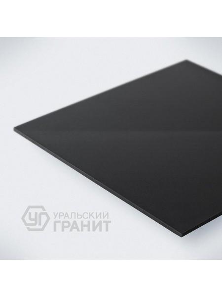КЕРАМОГРАНИТ 600х600х10 UF019 Насыщенно-черный моноколор